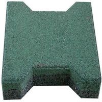 工字型橡胶地砖 新国标安全地垫 彩色拼装悬浮地板 耐用十年