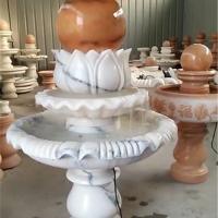 厂家供应石雕喷泉 大理石风水转运球喷泉别墅庭院流水摆件
