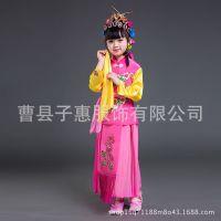 儿童戏服京剧舞蹈服小红娘小花旦俏花旦戏剧六一表演服戏曲服装女