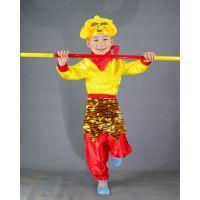 西游记孙悟空齐天大圣套装演出服美猴王服装儿童角色扮演舞台服装