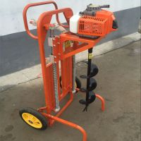 园林机械 普遍适用植树挖坑机 打桩地钻挖坑机1