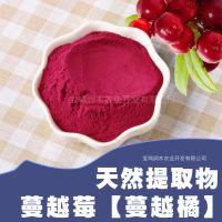 蔓越莓原花青素10% 国标 水溶性蔓越莓提取物 量大优惠