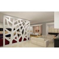 山东波浪板厂家专业定制沙发隔断装饰板材雕花板玄关隔断板