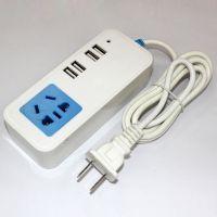 电源插座 带USB接口 多用插线板 接线板 拖线板 4USB接口充电插座