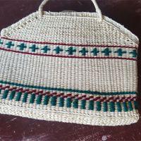 雨记 手工编织 沙滩包 外出装饰 材料源自棕树