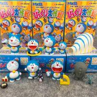 机器猫 叮当 哆啦A梦80周边大作战 8款盲盒 公仔摆件过家家玩偶