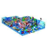 海洋英伦森林风格淘气堡儿童乐园室内小型游乐场互动滑梯奇缘游乐设备厂家