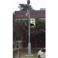 智慧路灯屏,太龙智显LED灯杆屏在郑州智慧灯杆试点应用