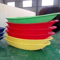 牛筋塑料船2米 3米 6米塑料渔船双层加宽加厚养殖钓鱼观光河道清理船