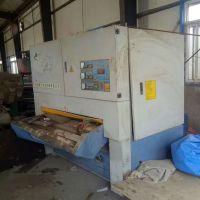 9成新二手沙光机 青岛海川1.3米二手砂光机价格