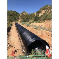 衡水钢波纹涵管特性,工程用钢制波纹涵管厂家 直径1米基础处理