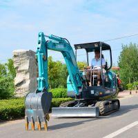 湖南小型挖掘机厂家 山鼎小型工程用小挖机
