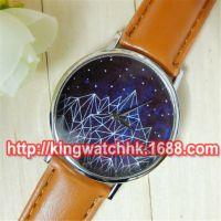 清仓手表批发 日内瓦手表 宇宙天体星星山峰皮带石英学生手表