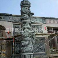 厂家直销大理石华表柱 石雕花岗岩盘龙柱  大型广场柱子