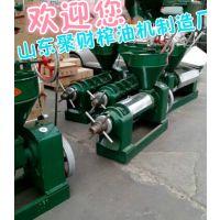 宁夏吴忠螺旋家用榨油机价格 出售圆排花生螺旋挤油机
