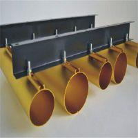 彩色铝圆管木纹拉弯弧形铝圆管吊顶厂家批发定做