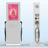 新能源汽车充电广告机 49寸户外充电桩一体机广告机 工厂直销定制