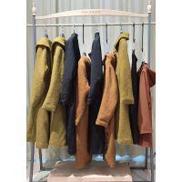阿尔巴卡 高端大码双面羊绒大衣专柜货源女装品牌折扣工厂直销特价供货