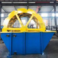 广东梅州河沙洗砂机,骏辉销售含泥量偏少的水轮洗沙机