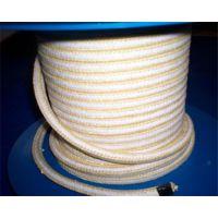 白色芳纶盘根环-芳纶盘根环-裕达密封产品