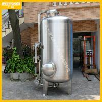 直销广旗牌别墅小区生活用水净化处理过滤器 多介质石英砂过滤罐