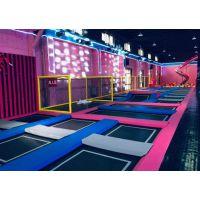 定制生产儿童乐园蹦床游乐商场健身蹦床减压海绵池蹦床公园厂家