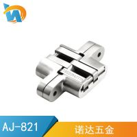厂家直销SUS304不锈钢精铸隐形合页十字铰链木门折叠门 AJ-821