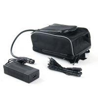 厂家供应新款电动自行车动力锂电池组,山地车前挂款36V48V珍妮包电池
