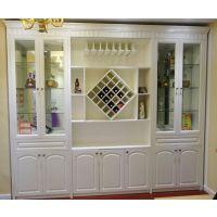 欧梦衣柜 工厂直销免费上门量尺设计安装 酒柜定制 现代简约中式