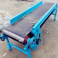 安庆大倾角挡边输送机 专业生产电动升降皮带机