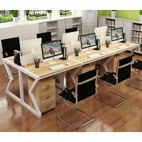 江西办公家具现代简约电脑桌椅屏风职员办公桌椅四人位组合卡位厂家直销