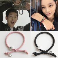 韩版时尚流行女神打结手链  太阳的后裔宋仲基同款韩国黑色手链