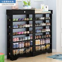 防尘多层收纳金属简易小鞋柜子经济型家用客厅鞋架带抽屉