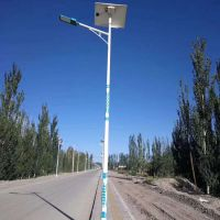承运供应定制款浙江新农村太阳能路灯5米6米30W一体化道路照明超亮路灯