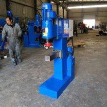 螺母铆压机 采用气液增力缸作为驱动装置,依用户要求可配备全自动送料系统。气液增力缸独特的软到位技术及