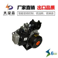 四川电动轿车增程器发电机大漠森厂家发5KW48V变频27极纯铜电芯