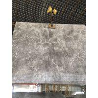天然奥斯卡灰大理石 进口灰石 复合板 背景墙 原石工程单 可定制