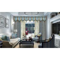 成都别墅窗帘|欧式遮光窗帘|7克拉专业设计