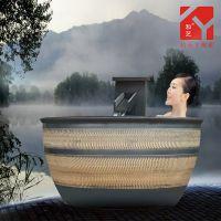 家用泡缸 沐浴缸泡桶 大韩式温泉缸内厂家直销缸 景德镇陶瓷大缸