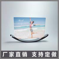 欧式亚克力相框 创意儿童月亮摆台 6/7/8寸 韩版现代照片框