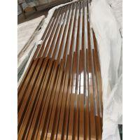 江苏园林餐厅装饰304不锈钢木纹屏风批量定做质量保证
