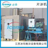 小型超市酒店商用片冰机300公斤小型制冰机 厂家直销送货上门冰玛