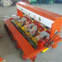 四轮车带玉米施肥播种机 拖拉机免间苗谷子精播机