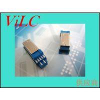 BM3.0 短体焊线式 USB公头 铁壳/铜壳 盘装