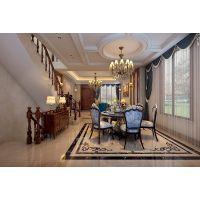 山水装饰公司欧式别墅豪华装修,家居生活的惬意和浪漫