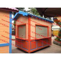 惠州商场展示花车商品展柜定做室内售货车设计制作