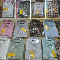 湖地摊新产品男式衬衣品牌男式纯棉长袖衬衫厂家批发男衬衫