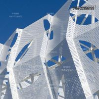 东莞市幕墙铝单板生产厂家 氟碳镂空铝单板定制