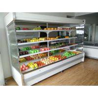 河南水果保鲜柜厂家 水果风幕柜展示柜定做