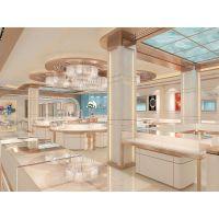 金六福珠宝展示柜 奢侈品货架 玻璃柜台 谷德设计制造 G08 1200*550*950